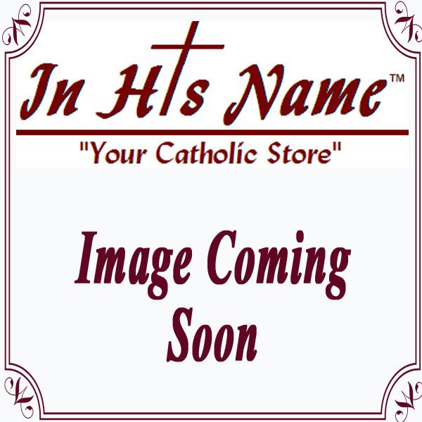 First Communion White Satin Case & Rosary Set
