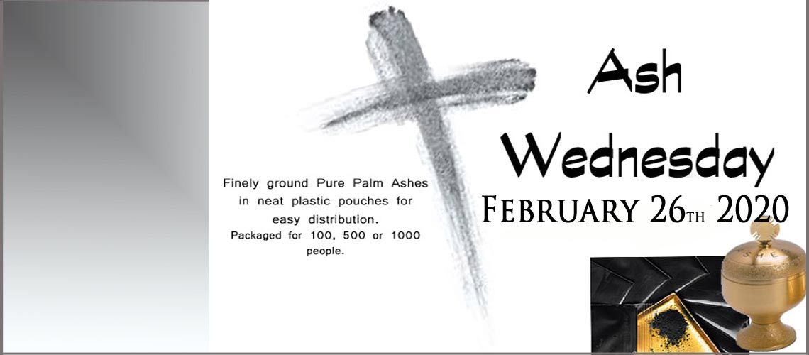 Ashes for Ash Wednesday