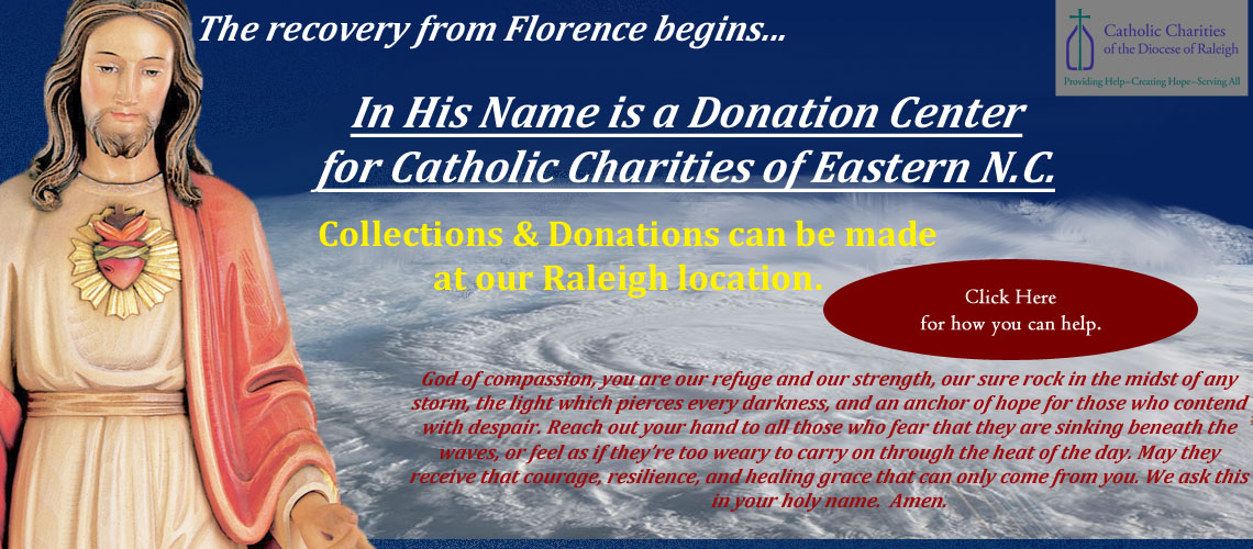 Hurricane Florence Disaster Relief Collection Center