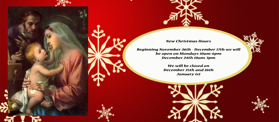 Extended Hours Advent & Christmas