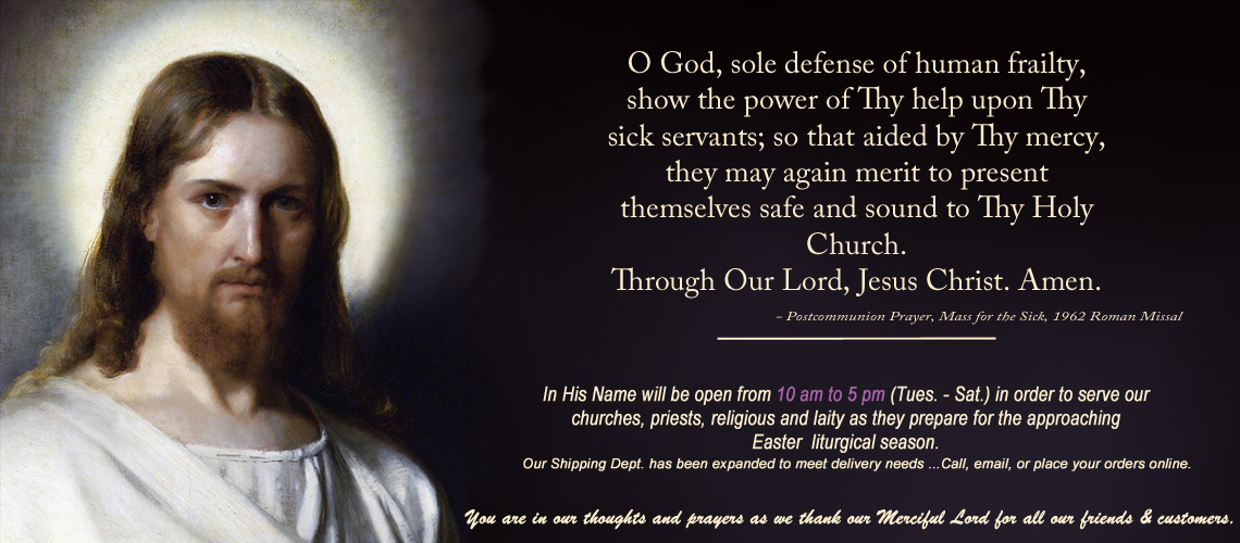 Prayer from Mass for the Sick