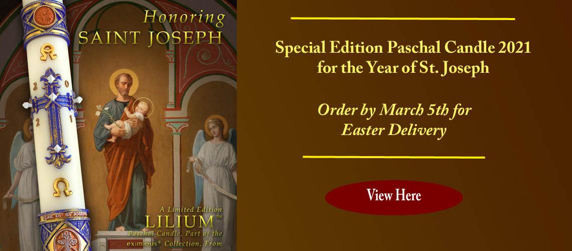 Year of Saint Joseph Paschal Candles