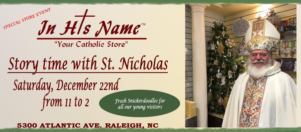 Saint Nicholas visits In His Name