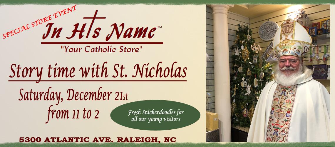 St. Nicholas Special Store Event