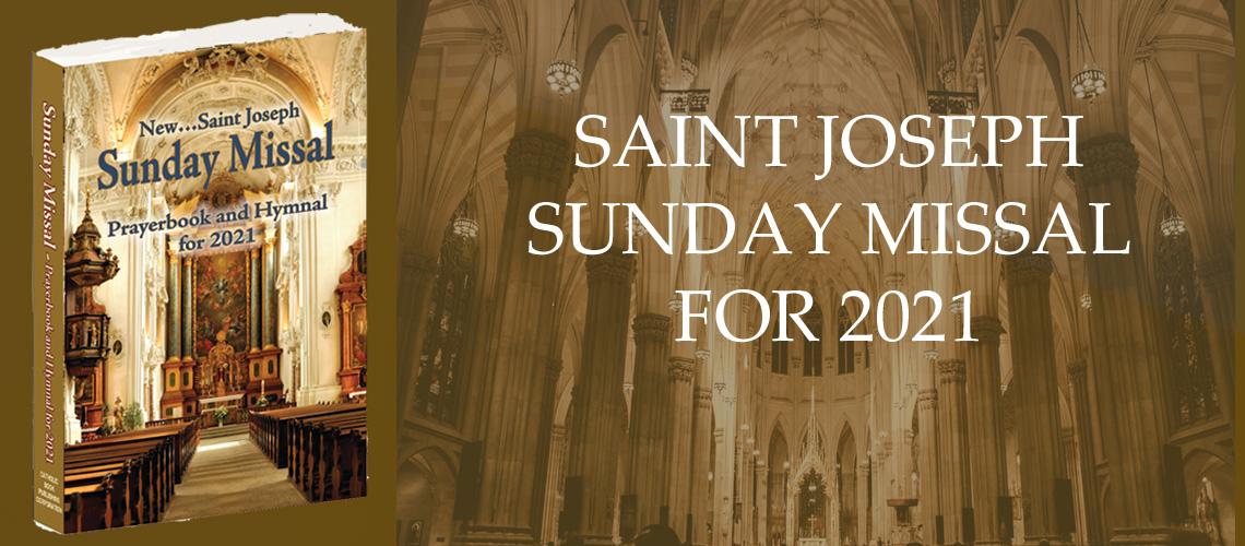 2021 Saint Joseph Sunday Missal